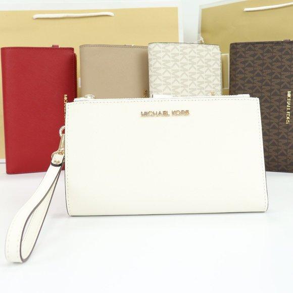 Michael Kors Handbags - Double Zip Wristlet  (OPWHI)